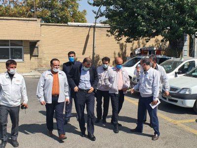 گزارش تصویری از بازدید مدیران ارشد گروه خودروسازی سایپا از نمایندگی شیرعلی نیا تهران (بخش ۱)