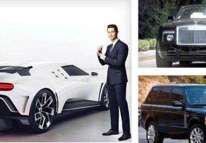 بازیگران و فوتبالیستهای مشهور چه ماشینهایی سوار میشوند؟